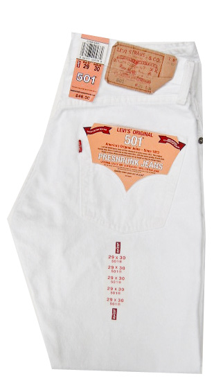 levis 501 jeans dyed white papikian